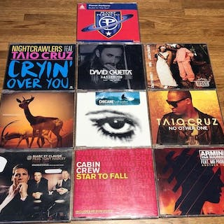 20 cd singles dance trance from the 2000 - 2015 - Diverse...