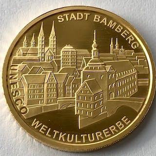 Germany - 100 Euro 2004 F - UNESCO Bamberg - 1/2 oz .999 - Gold