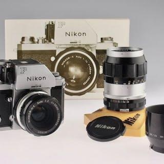 Nikon Photomic FTNSet (50mm + 135mm non-ai)