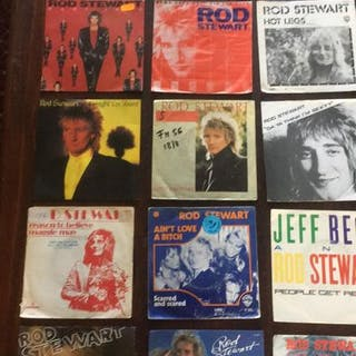 Rod Stewart - Diverse Titel - 7″-Single - 1990/1970
