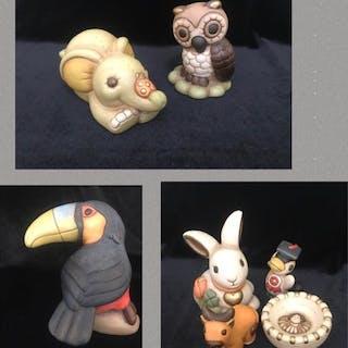 Thun - Grande lotto di statuine (7) - Ceramica
