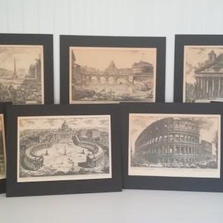 Giovanni Battista Piranesi  - Stampa (7) - Stile neoclassico