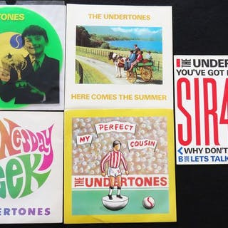 The Undertones - 5 great records including 'Jimmy Jimmy'...