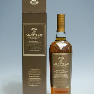 Macallan Edition No. 1 - Original bottling - 0.7 Ltr