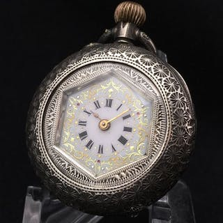 Fine Decorated Pocket watch - NO RESERVE PRICE - Unisex - 1850-1900