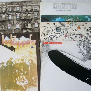 Led Zeppelin - Diverse Titel - 2x LP Album (Doppelalbum), LP Album - 1971/1975