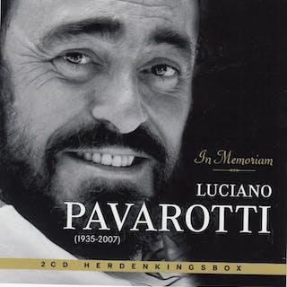 """Luciano Pavarotti - """" In Memoriam """" - Diverse Titel - CD Boxset"""