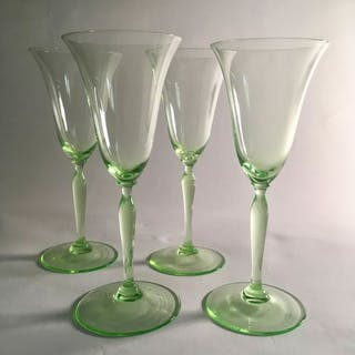 A.D. Copier - Glasfabriek Leerdam - Romanda Weingläser - Glas
