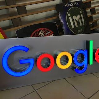 Illuminated sign - XXL Google display wall advertising Lamp promotion lightbox