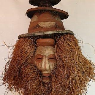 Masques (1) - Bois - yaka  CONGO - Afrique centrale