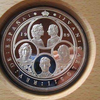 España - 10.000 pesetas -cincuentin de 1989 - V...