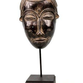 Masque passeport - Bronze - Baoulé - Côte d'Ivoire