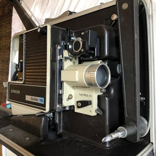 Graflex Singer 16mm projector