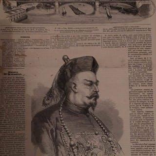 L'Illustration. Journal Universel. Tomes 31 et 35  - 1858/1860