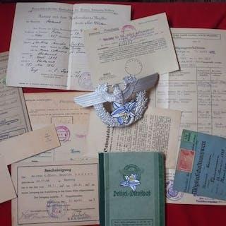 Alemania - Policía militar - Documento