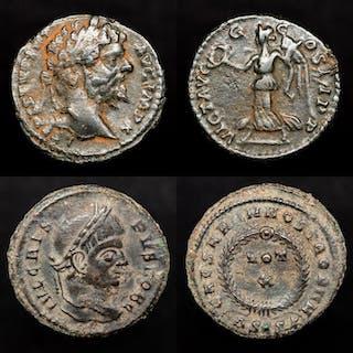 Impero romano - Lot comrpising two coins