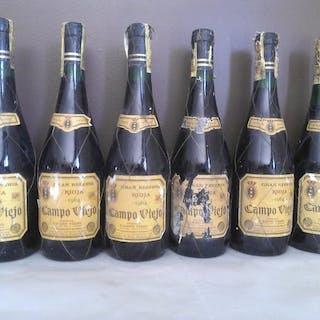 1964 Bodegas Campo Viejo - Rioja Gran Reserva - 6 Botellas (0,75 L)