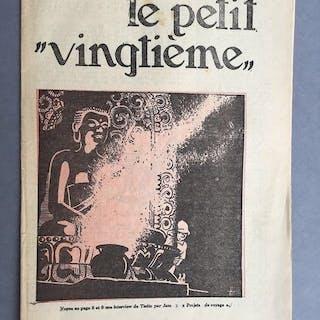 Le Petit Vingtième 47 - Interview de Tintin par Jam...