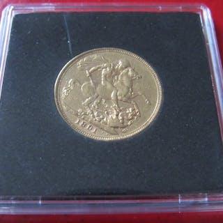 Australia - Sovereign 1891 S - Victoria - Gold