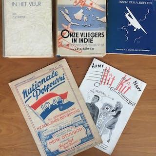 C.C. Küpfer - Nederlands vliegers in het vuur - 1927-1945