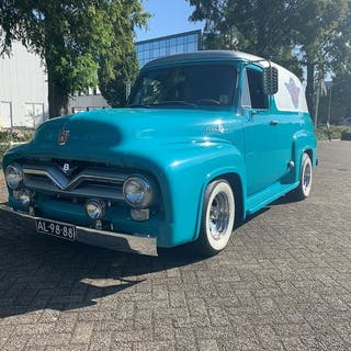 Ford USA - Ford F100 panel Custom made- 1955