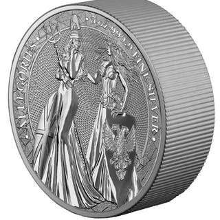 Germany - 25 Mark 2019 Germania Mint The Allegories...