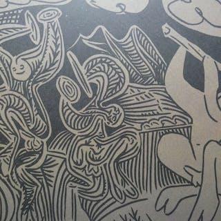 Pablo Picasso ( 1881, 1973 ) - 3 Blätter