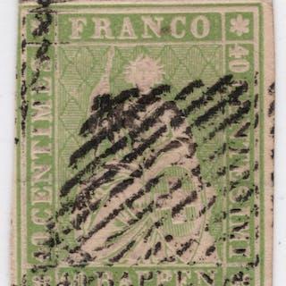 Schweiz 1855 - Berner Druck