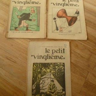 Le Petit Vingtième 31 + 32 + 33 - Tintin - reporter en...