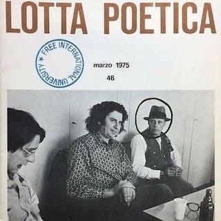 Joseph Beuys and Paul de Vree/Sarenco - Lotta Poetica 46...