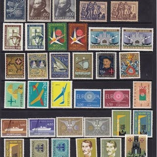 Portugal 1948/2004 - Collection of stamps and sets