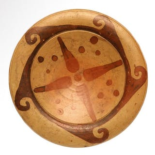 Etruscan TerracottaStemmed Pottery Dish