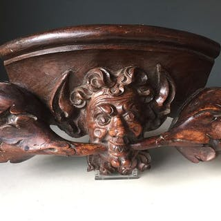 misericorde- Renaissance - Walnut - Second half 16th century