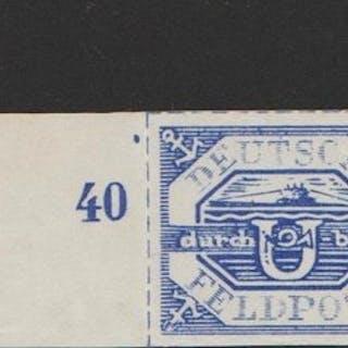 Deutsches Reich 1943/1945 - Selection of Field post - Michel 5a, 13, 17