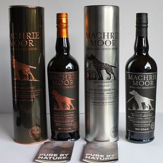 Arran Machrie Moor Limited Editions The Peated Arran Malt...