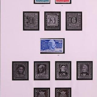 Bundesrepublik Deutschland 1949/1973 - Collection in SAFE pre-printed album