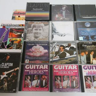 Eric Clapton & Related - Diverse Titel - CD's, DVD's - 1984/2004