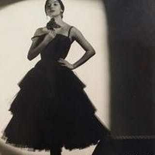 Juan Gyenes (1912-1995) - Dancer in the shadow, 1950's