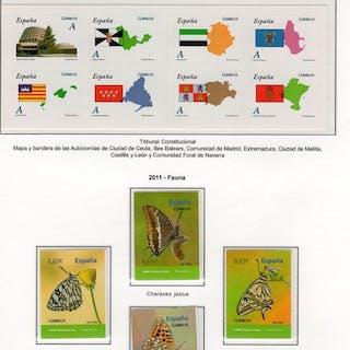 España 2011 - Año Completo 2011 + 4 Enteros Postales...
