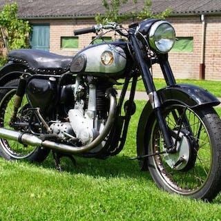 BSA - B33 - OHV - 500 cc - 1955