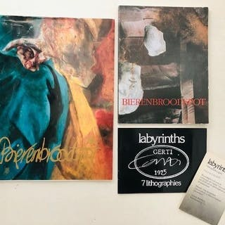 Gerti Bierenbroodspot - Lot with 3 publications - 1975/1993