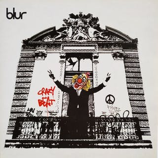 """Banksy x Blur - """"Crazy Beats"""" LP"""