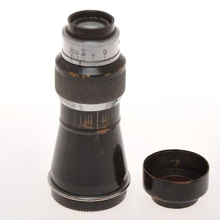 Leitz rare Leica SM 39x1 105mm F:6.3 105/6.3 Elmar Mountain black/chrome