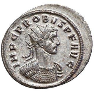 Impero romano - AE Antoninian, Probus (276-282) Ticinum, MARS