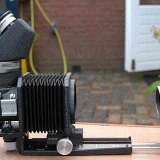 Leica (Leitz) Koffer UYOOQ met Balg 1 en M-bajonet Visoflex