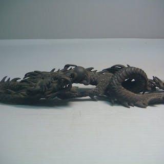 Statues (1) - Bronze - Dragon - Japan - Meiji period (1868-1912)