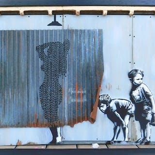 Benny The Kid - Shower Girl / Banksy Tribute