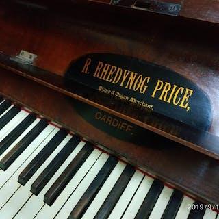 R. Rhedynog price piano & Organ Mercant - Piano (pianoforte) - CARDIFF - 1890