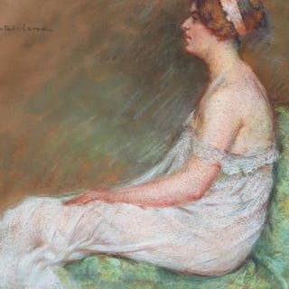 Marie Chautard Carreau - Portrait of lady