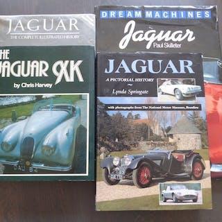 Bücher - Jaguar - Lot; 4 Jaguar Books - 1978-1996